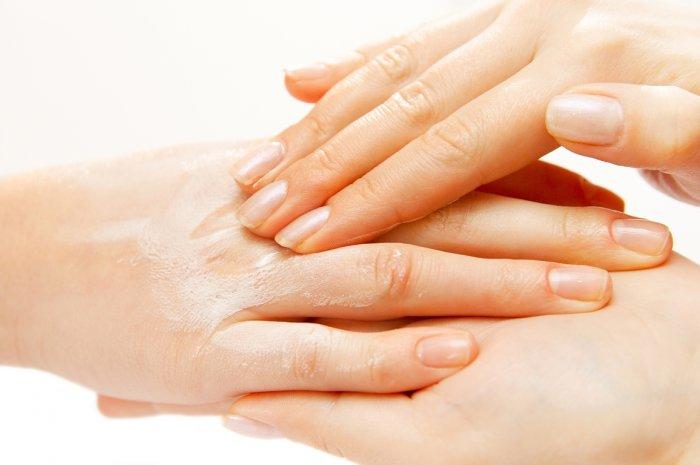 keratin hand